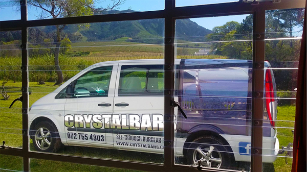 Crystal Bars panel van